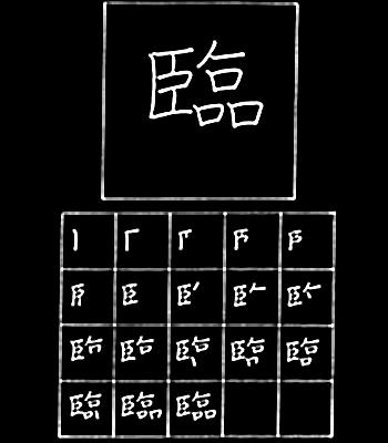kanji mengawasi
