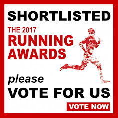 Blog shortlisted for the 2017 Running Awards