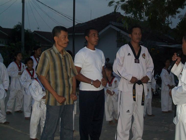 Pengukuhan Dojang TKD Wijaya Kusuma oleh Sabeum Nim Yefi Triaji (DAN VII Kukkiwon)