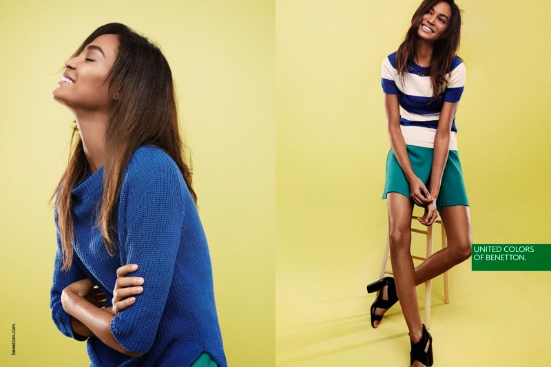 Joan Smalls stars for the United Colors of Benetton Spring/Summer 2015 Campaign