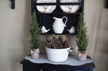 Winter Woodland Plate Rack
