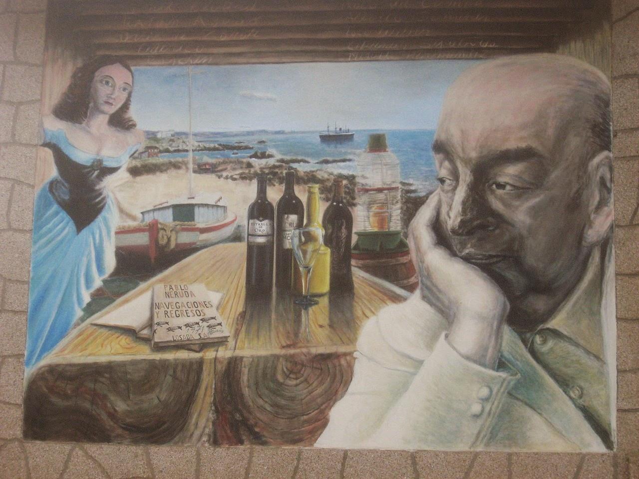 Pablo Neruda, Poezje, Okres ochronny na czarownice, Carmaniola