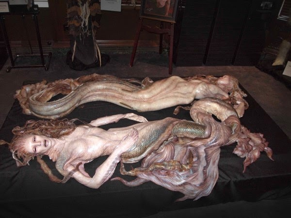 mermaids designed by Joel Harlow for Pirates of the Caribbean On Stranger Tides