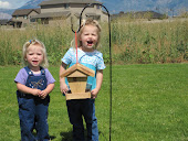 Sadie (4) &amp; Alyssa (2) birdhouse