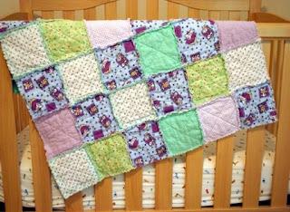 Kreasi kain perca: Rag quilts1