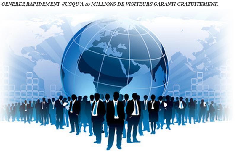 5 millions de visites distribuées jour