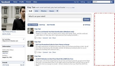 Menghapus iklan di facebook