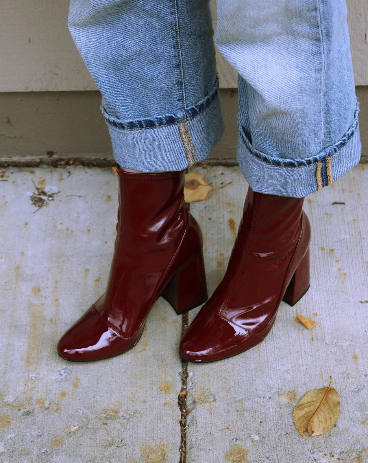 zara ankle sock boots