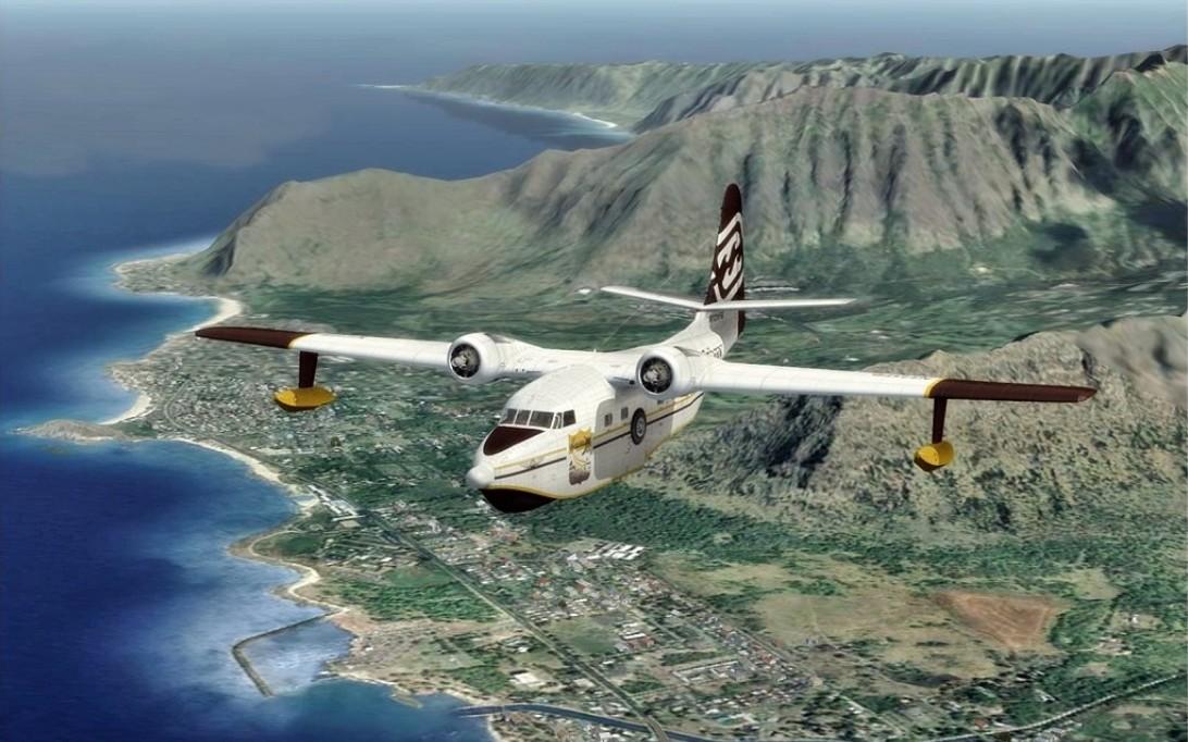 HU-16 Albatross Amphibious Aircraft Wallpaper 1