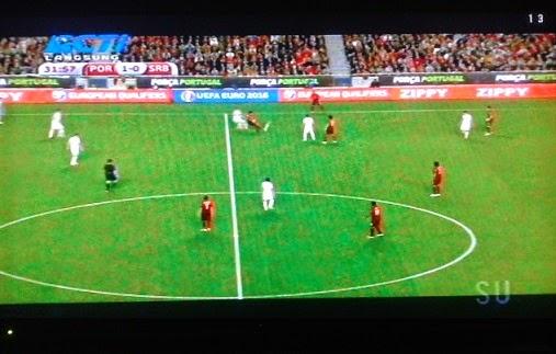 Laga Lanjutan Kualifikasi Euro 2016 Grup I Babak Pertama antara Portugal VS Serbia