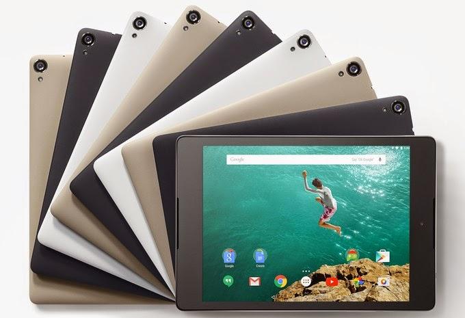 spesifikasi Google Nexus 9 Terbaru