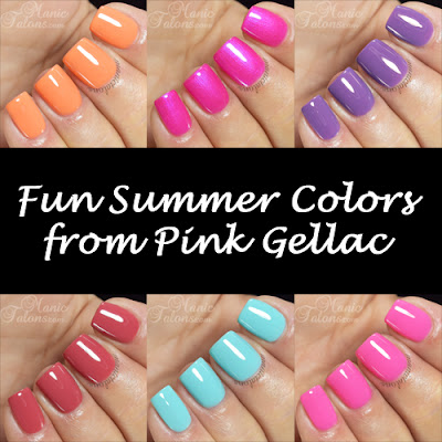 Fun Summer Shades from Pink Gellac
