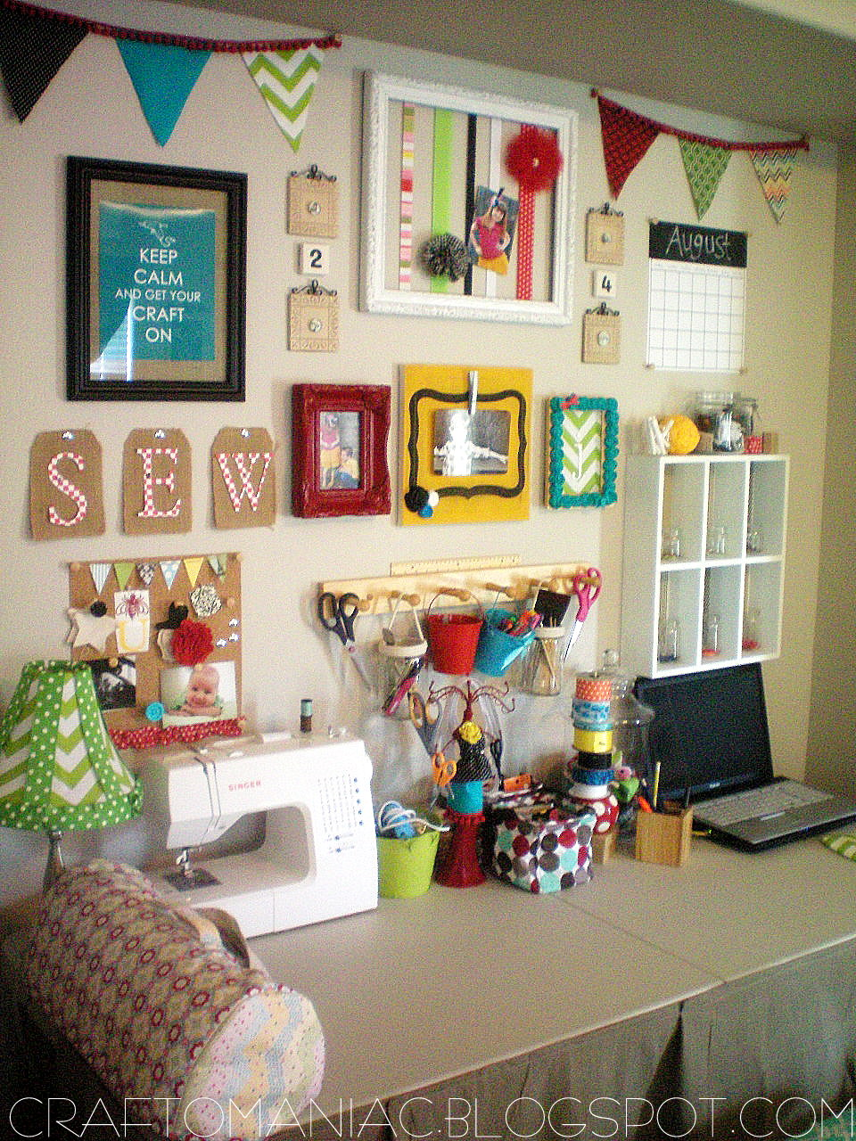 Craft room organization for Room organization