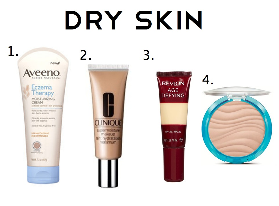 Suffering from dry skin can also be an issue when trying to apply makeup. Eczema or severely dry skin can cause the skin to tighten and become flaky.
