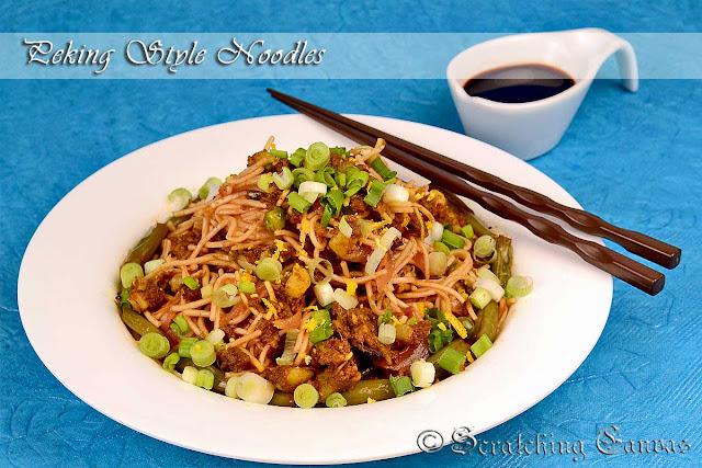 Taiwanese Stir Fry Beef Noodles