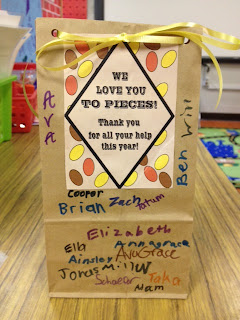 Mrs. Lirette's Learning Detectives, parent gift tag