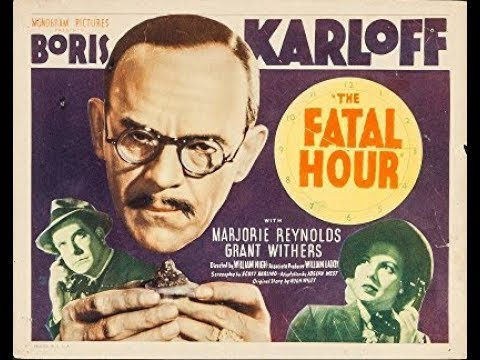 Boris Karloff Mystery Thriller Released January 15
