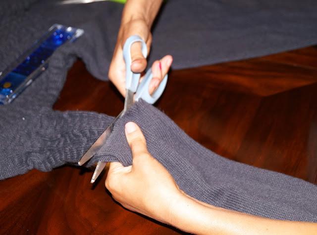 DIY: Homemade Leg Warmers