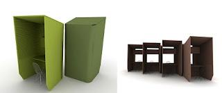 Muebles para Oficina Reciclados, Botellas PET Reutilizadas