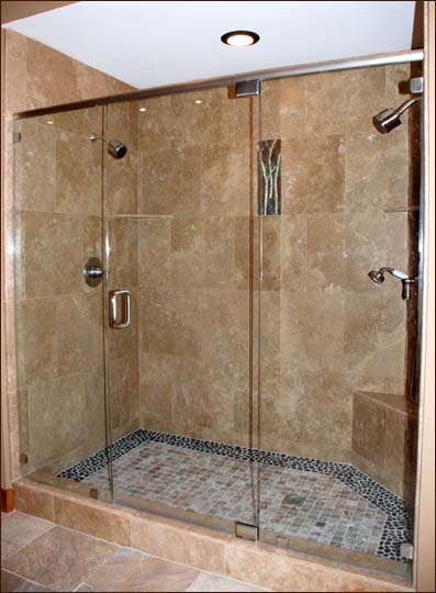 Bathroom shower design ideas custom bathroom shower for Home design ideas bathroom