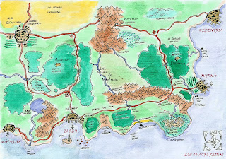 Llegada a Los Cuatro Reinos( Escenario campaña 4th)