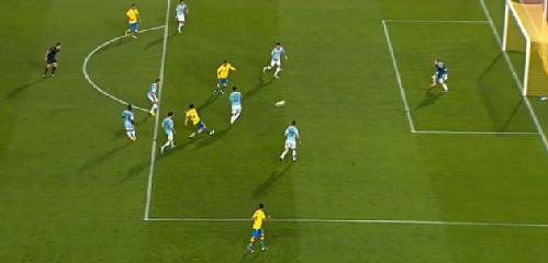 1-0 gol de Hernán