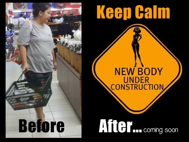 Weight Loss: Keep Calm New Body Under Construction
