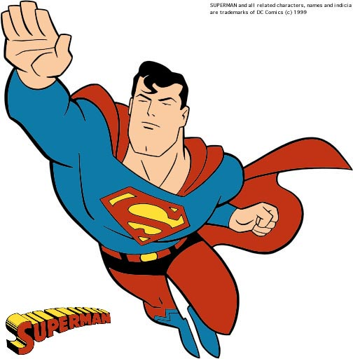 clipart superman flying - photo #38