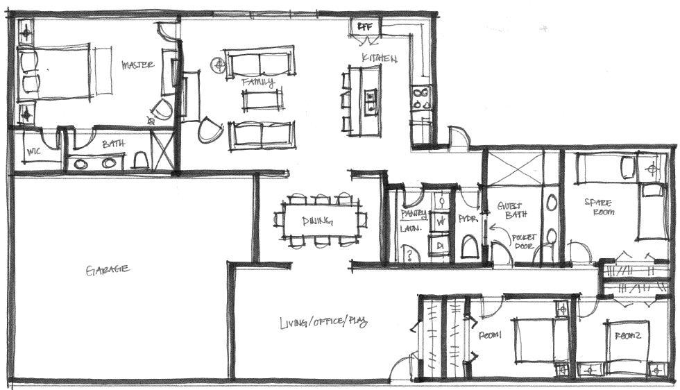 Dream Floorplan Nasagreen