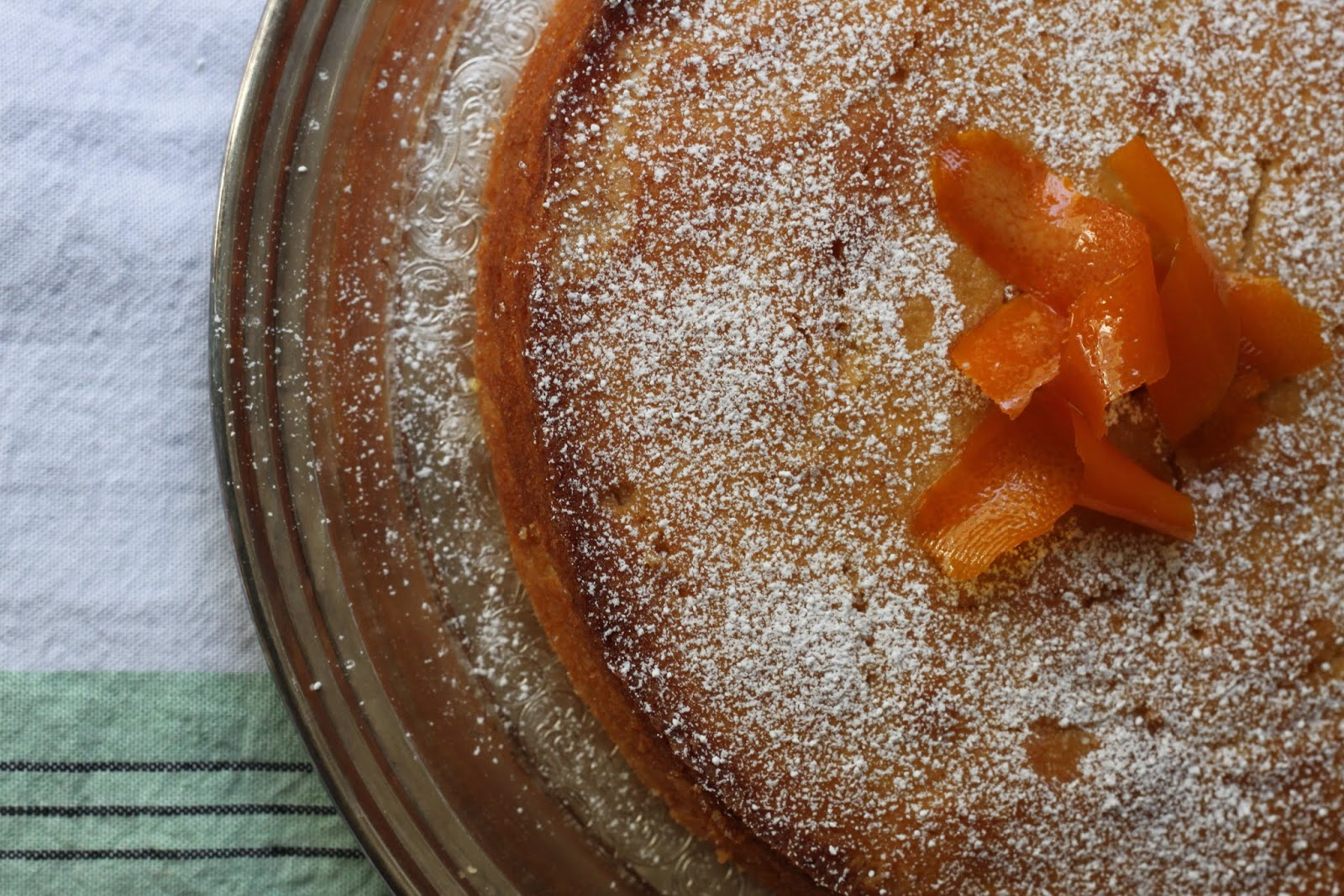 A stunning and delicious Mediterranean dessert: Almond ...