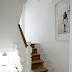 White stairs....