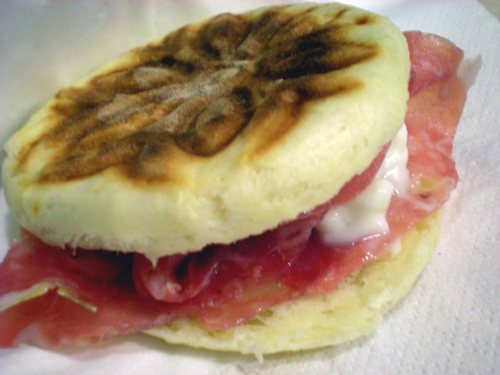 un fragrante piccolo panino