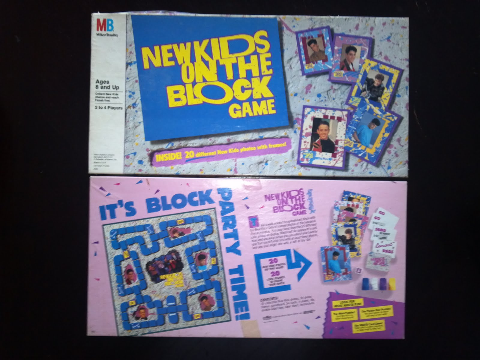 new kids on the block game a board game a day. Black Bedroom Furniture Sets. Home Design Ideas