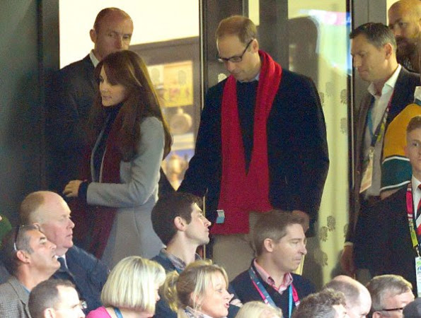 The Duke And Duchess Of Cambridge Were At The Rugby World Cup