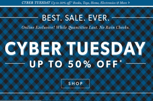 Chapters Indigo Cyber Tuesday Up To 50% Off