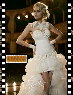 Dieta verte bien vestido novia
