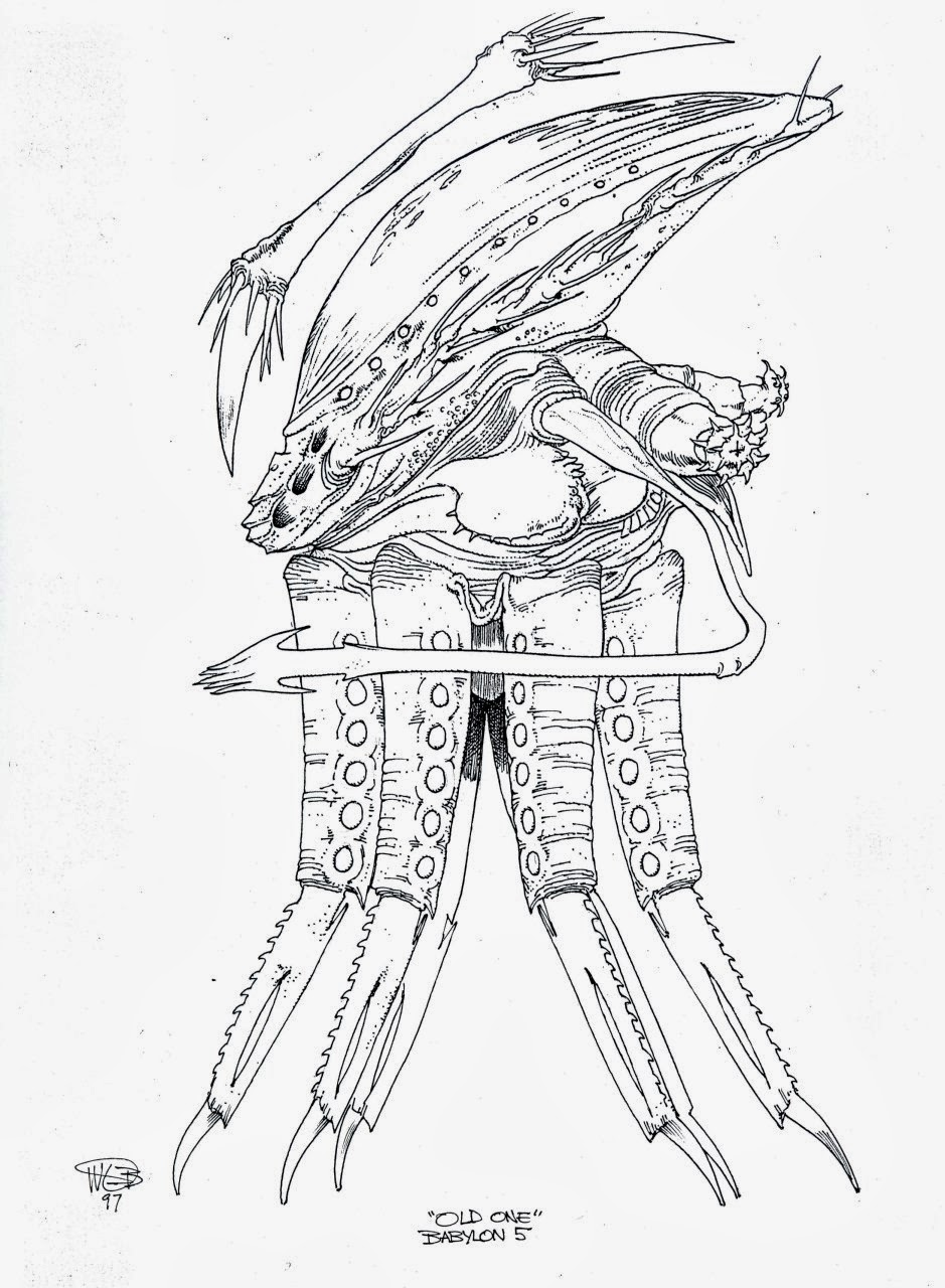 Dragon Coloring Pages also 22 Fresh Tudor House Floor Plans besides Tanar Ri Sketch 2 97229598 together with Babylon 5 Thirdspace Alien Concept Art furthermore Binks Sake Part 1. on amazing race 2013