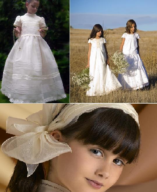 Vestidos para mama de nina de primera comunion