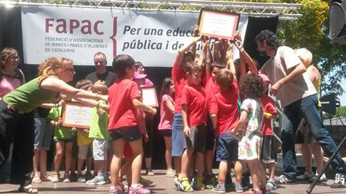 Festa FaPaC 2015 Parc Barceloneta Premis