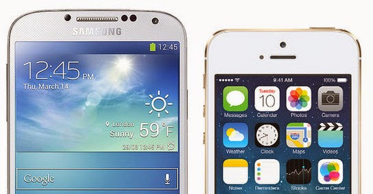 Apple iPhone 5S Beats Samsung Galaxy S4