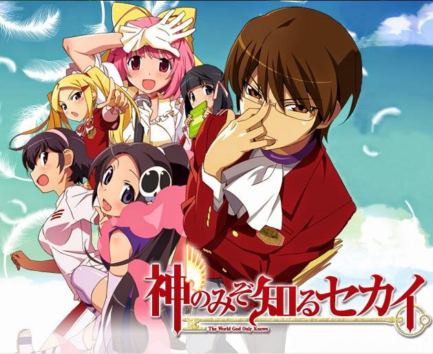 [ Info-Anime ] Manga The World God Only Knows Akan Tamat Pada Tanggal 23 April