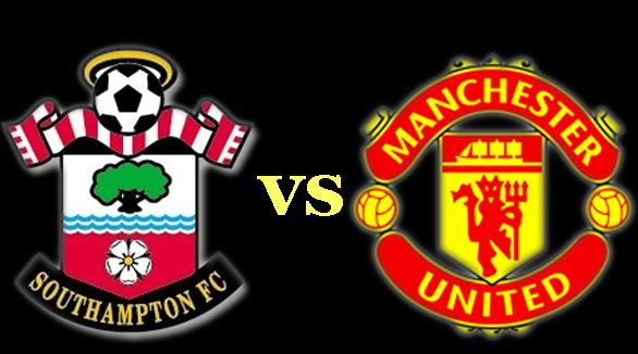 Southampton vs Man United Liga Inggris 2014-2015