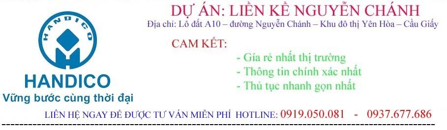 Dự án Liền Kề Nguyễn Chánh