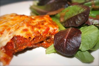Baked Eggplant Parmesan