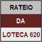LOTECA 620 - MINI RATEIO OFICIAL