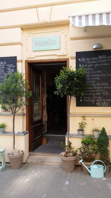 Marináda Picnic Store exteriér