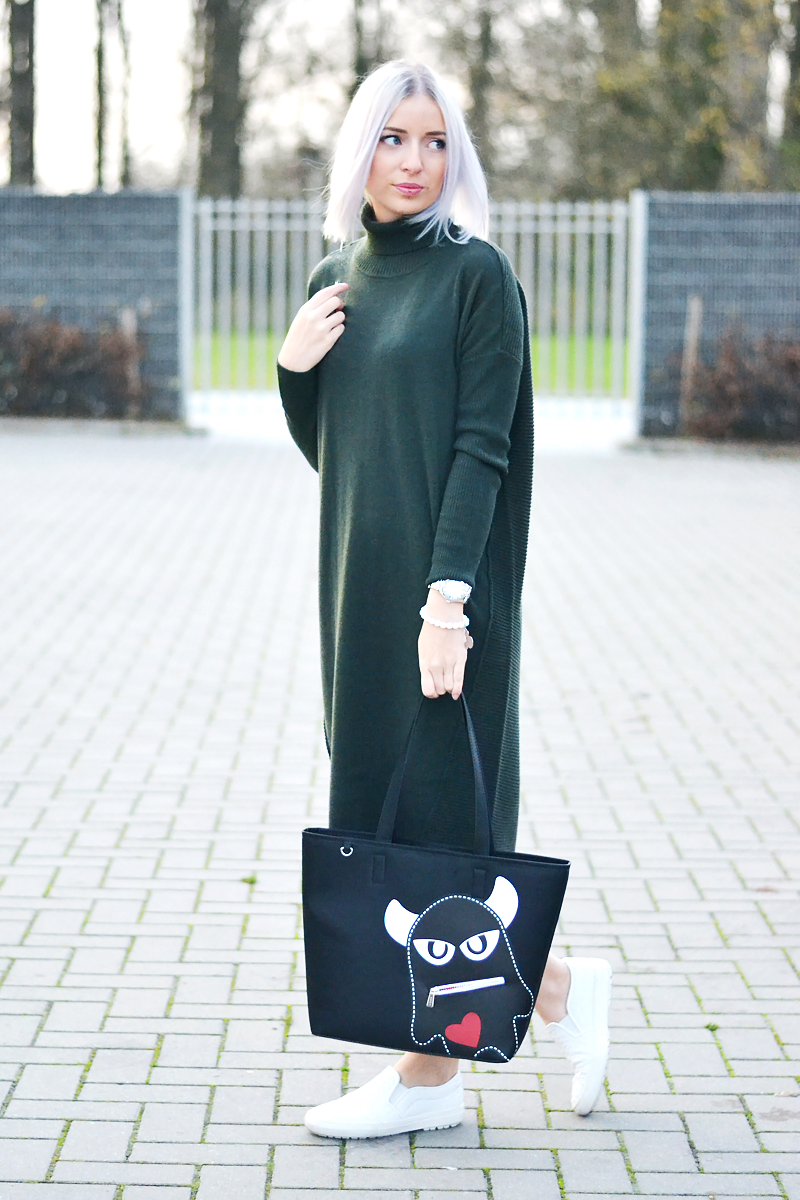 The maxi jumper dress