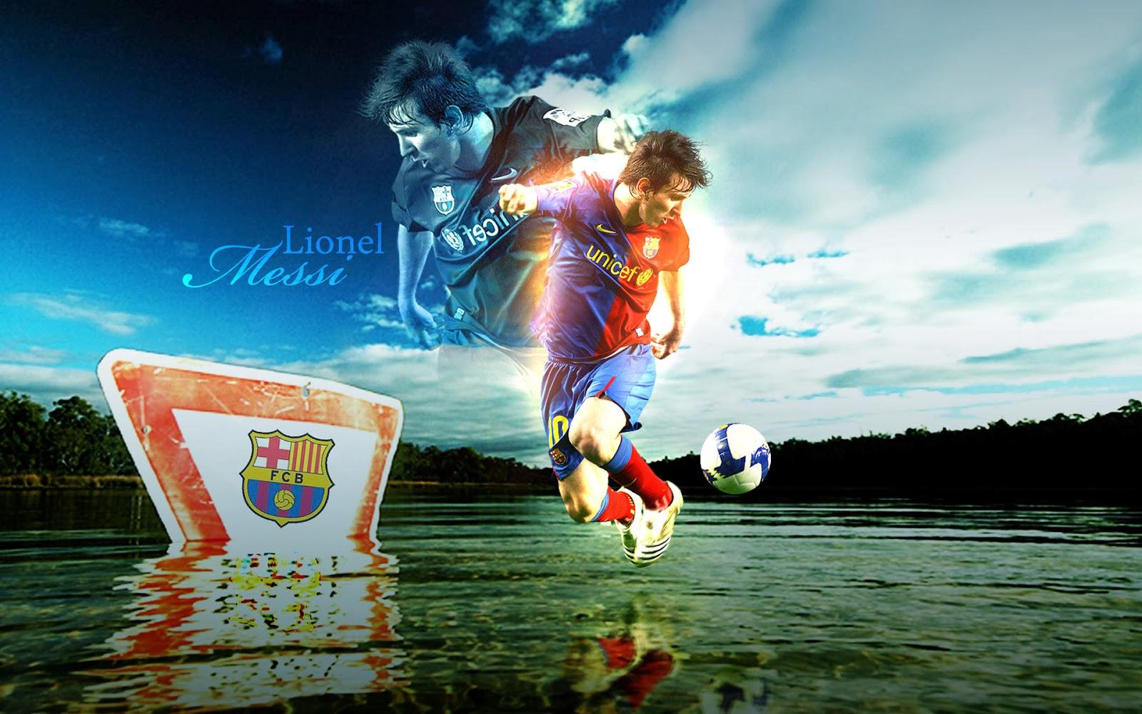 Lionel Messi Barcelona New HD Wallpaper 2013-2014