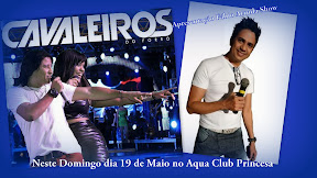 NESTE DOMINGO DIA 19 DE MAIO NO ACQUA CLUB PRINCESA