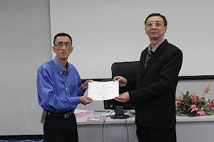 ผ่านการอบรมการทำสื่อการสอนบนระบบแอนดรอยด์ ที่ มรภ.ลำปาง วันที่ 4-8 มีนาคม 2556